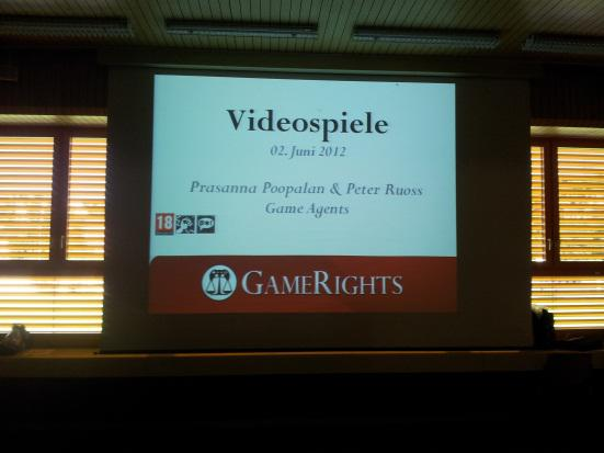Präsentation der GameAgents